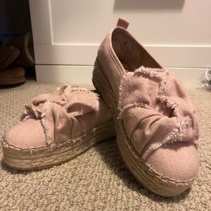 Pink Sam Edelman shoes